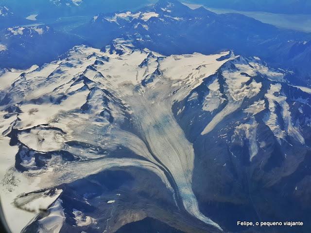 glaciares no Alasca