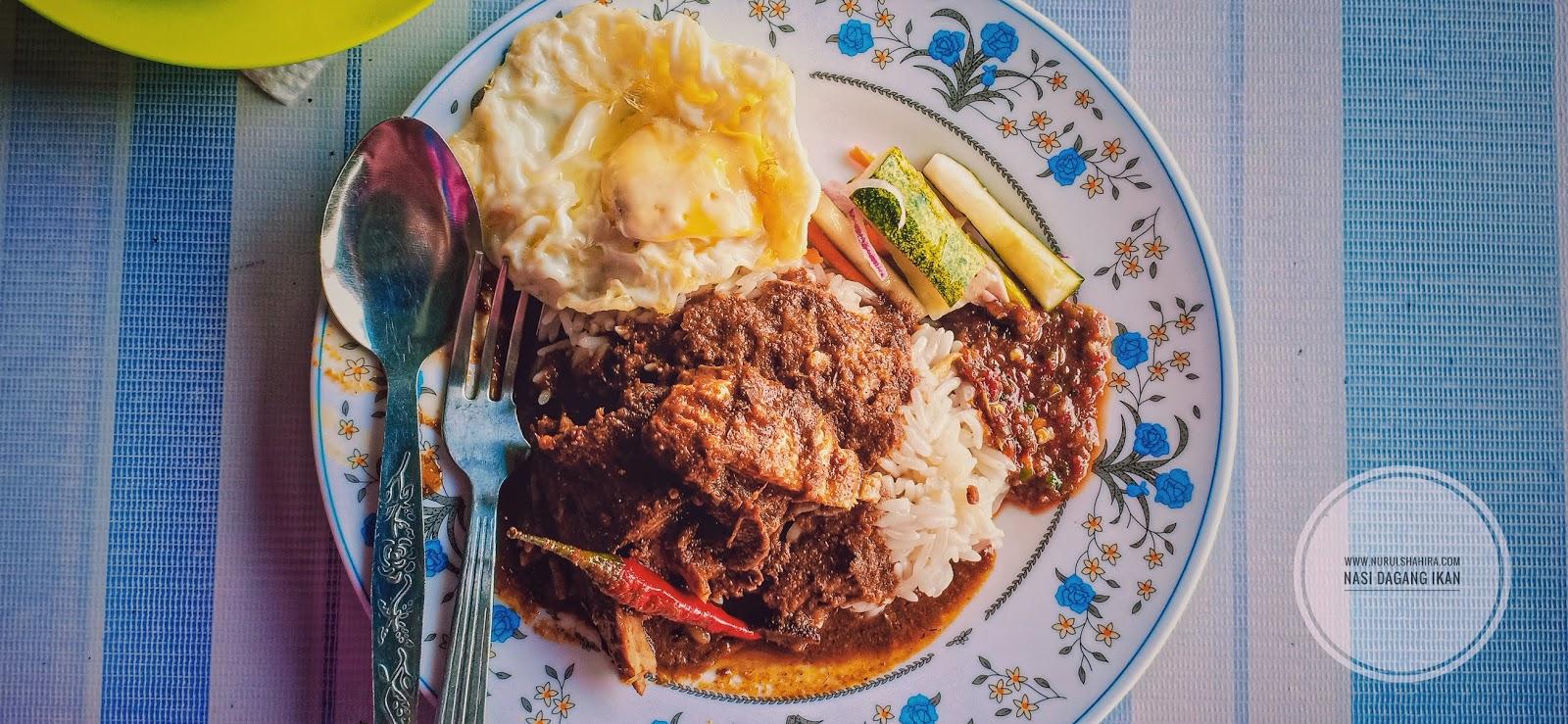Nasi Dagang sedap di Kafe Masakan Terengganu Asli Bandar Kinrara Puchong