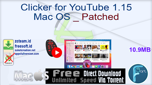 Clicker for YouTube 1.15 Mac OS _ Patched_ ZcTeam.id