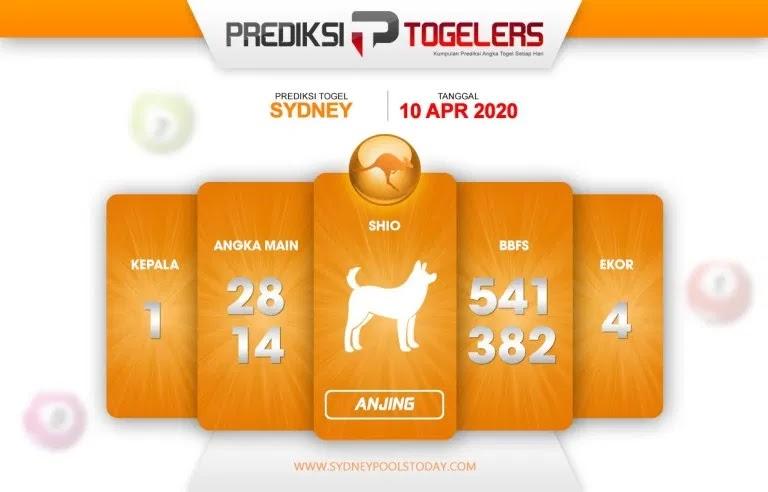 Prediksi Togel Sidney Jumat 10 April 2020 - Prediksi Togellers
