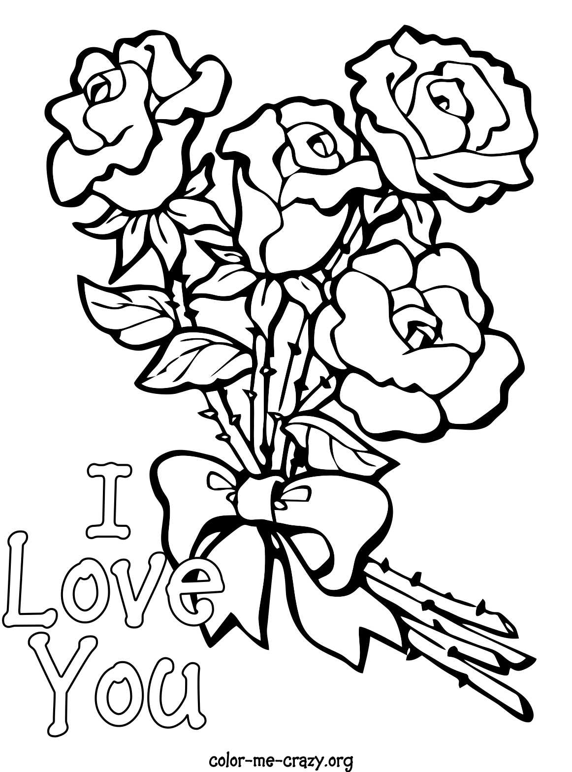 valentine coloring stationary pages | ColorMeCrazy.org: Valentine Coloring Pages