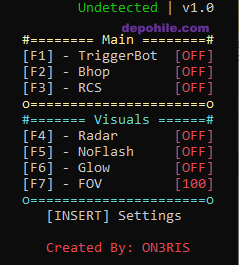 Counter Strike GO Oneris v1 Radar,Glow Hilesi 26.05.2019 İnjectsiz