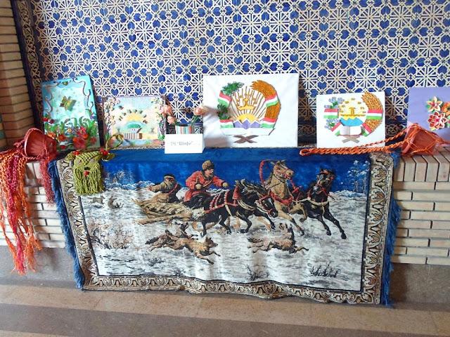 Весенняя ярмарка ремёсел, Душанбе, Таджикистан
