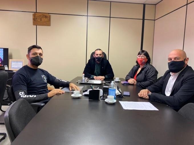 Alan Vieira se reúne com diretor do Instituto Penal de Gravataí