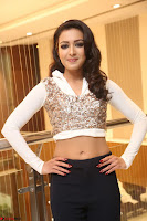 Catherine Tresa in a White Glittering Crop Top Black Leggings  Exclusive 039.JPG