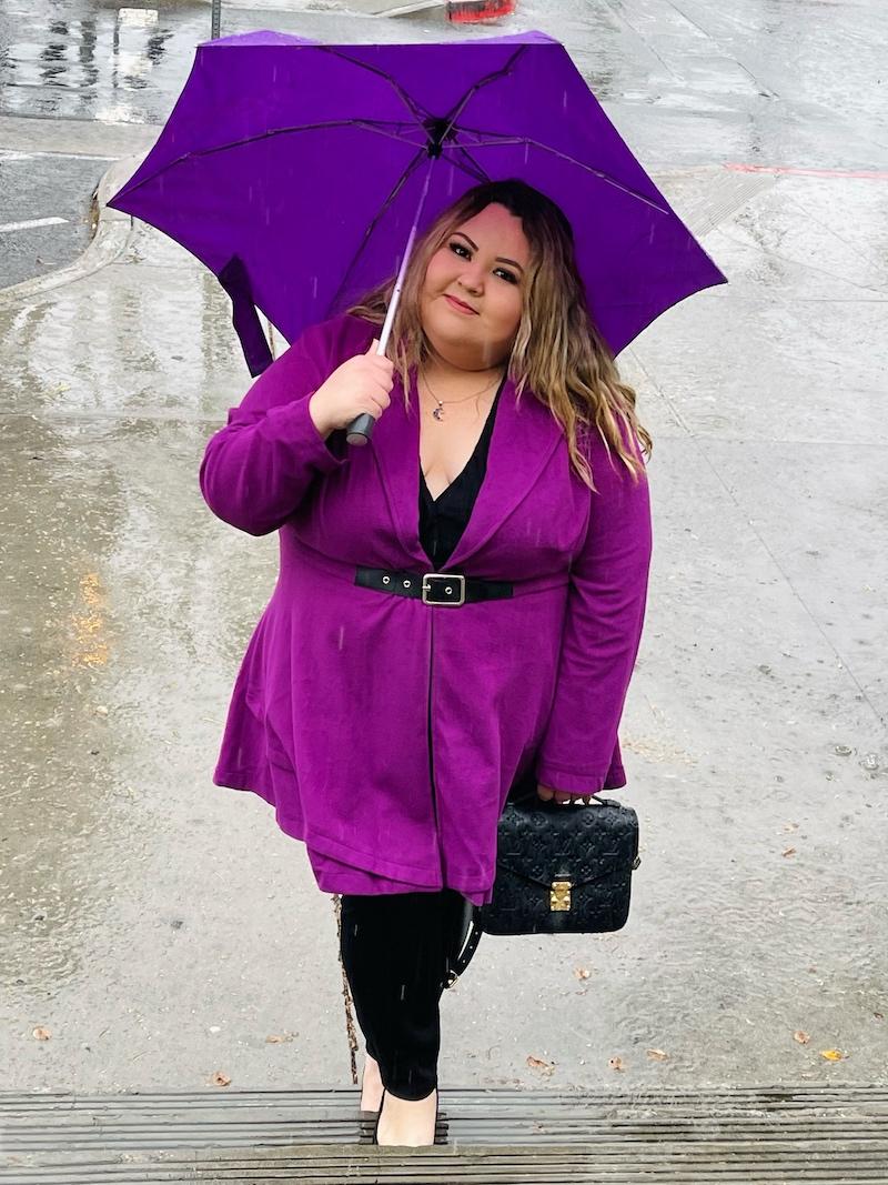 Plus Size Photography Rain- Rain Outfit