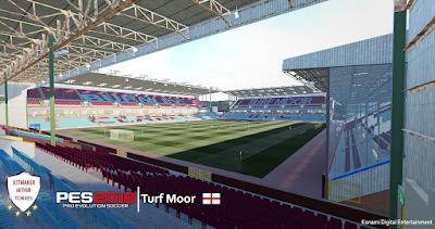 PES 2019 Stadium Turf Moor by Arthur Torres
