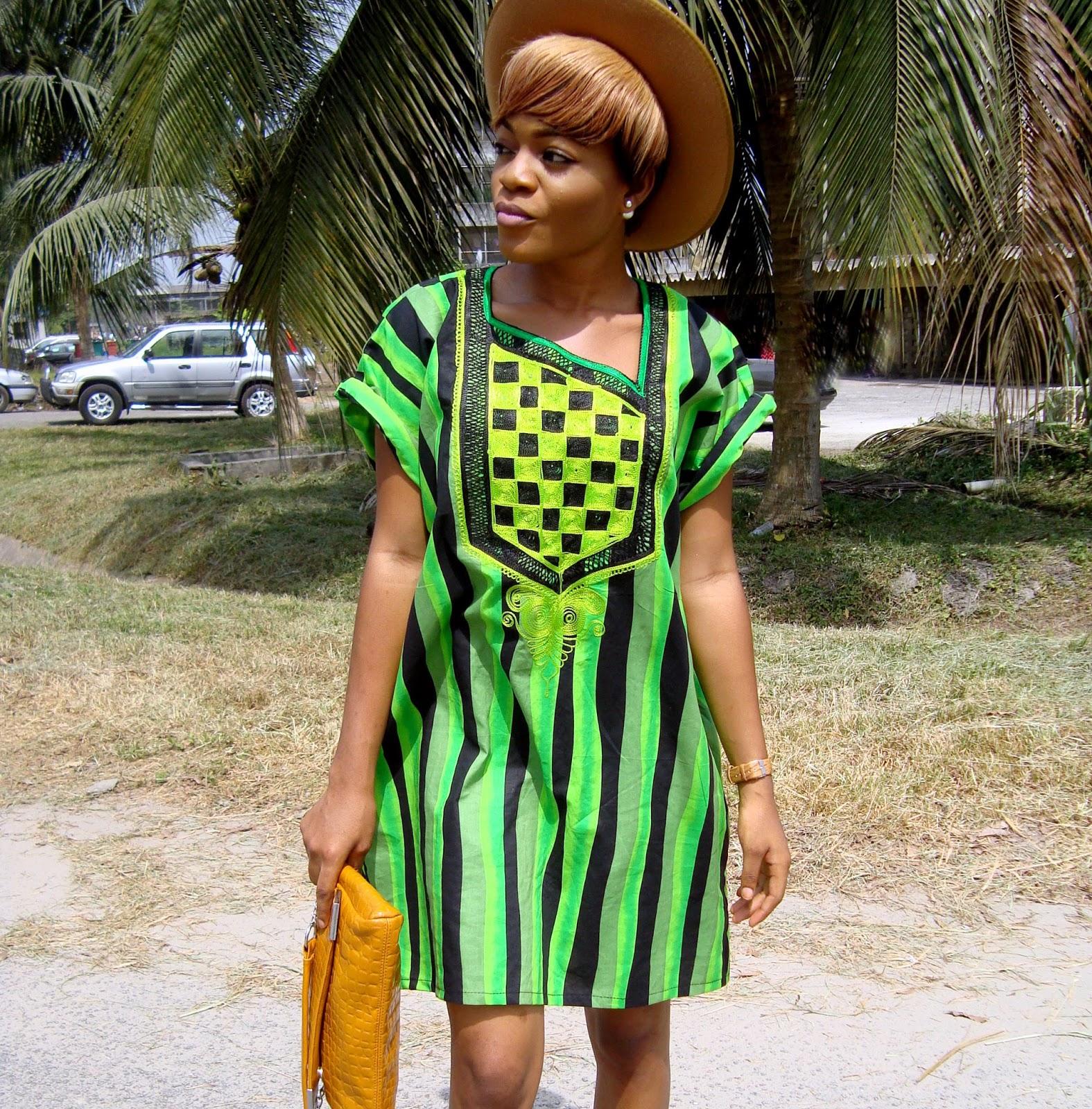 how to make an agbada, green and black agbada, nigerian fashion blogger, cedar