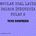 Bahasa Indonesia Kelas 8 - Soal Latihan Teks Eksposisi