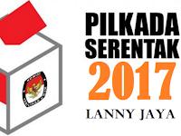 Terbaru, Hasil Quick Count Pilbup Lanny Jaya 2017