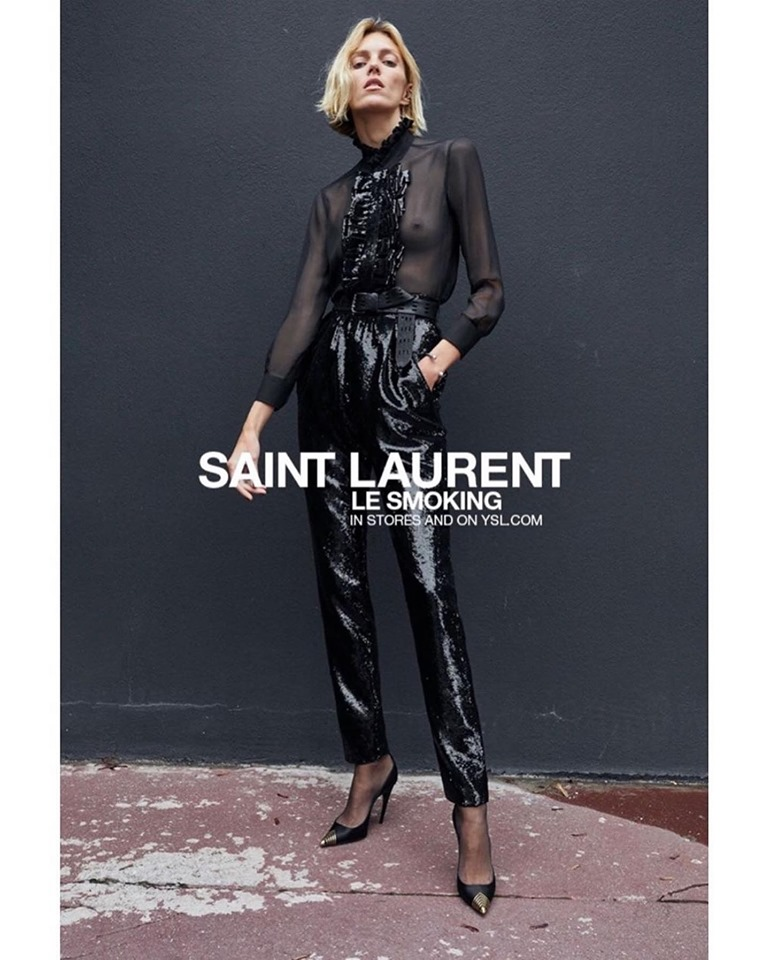 Saint Laurent Le Smoking Spring Summer 2020 Ad Campaign