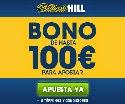 bono william hill 100 euros