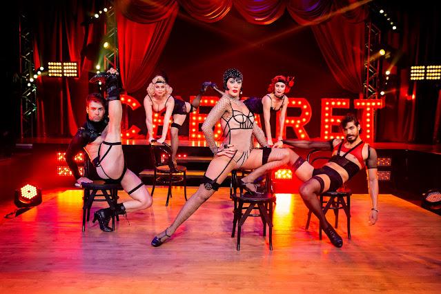 Claudia Raia encanta com musical Cabaret na última semifinal do Talentos