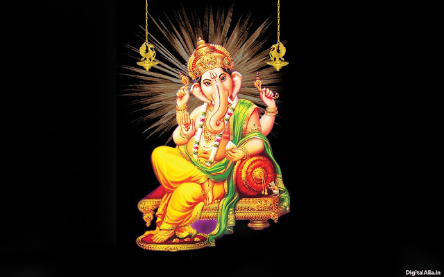 new ganpati wallpaper