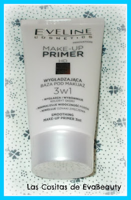 Primer Maquillaje HD longlasting 24 h de Eveline Cosmetics