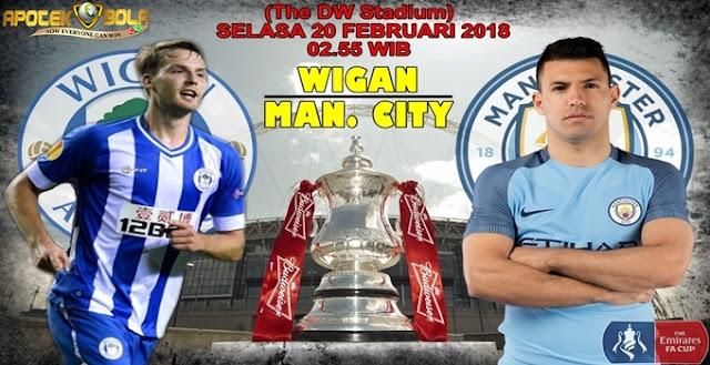 Prediksi Wigan vs Manchester City 20 Februari 2018
