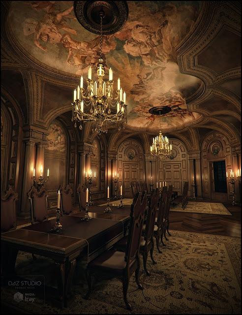 Baroque Grandeur Iray Addon