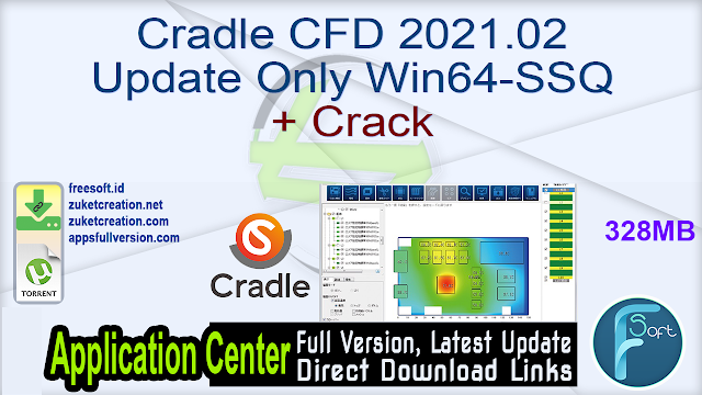 Cradle CFD 2021.02 Update Only Win64-SSQ + Crack