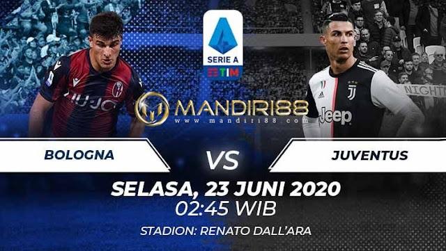 Prediksi Bologna Vs Juventus, Selasa 23 Juni 2020 Pukul 02.45 WIB