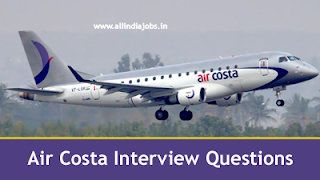 Air Costa Interview Questions