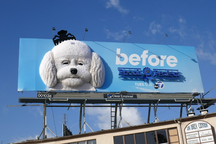Pooch Perfect Before 3D series premiere billboard