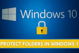 Cara Melindungi Folder Kata Sandi Di Windows 10