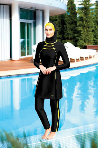 ملابس الحجاب الشاطئية