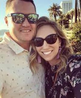 Jason Kokrak With His Wife Stephanie Kokrak