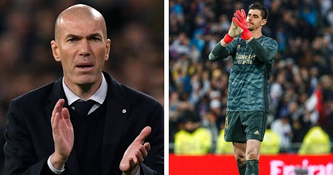 We know what Thibaut can do': Zidane happy with Courtois performance in Betis win