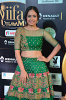 Nandita Swetha in a tight Green Choli Ghagra at IIFA Utsavam Awards March 2017 ~ 006.JPG