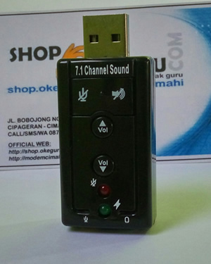 Sound Card USB Adapter - 7.1 Channel