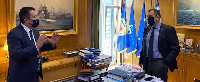 Στον Βόλο η έδρα Διοίκησης Αποβατικών Δυνάμεων ΠΝ-Τι δήλωσε ο ΥΕΘΑ