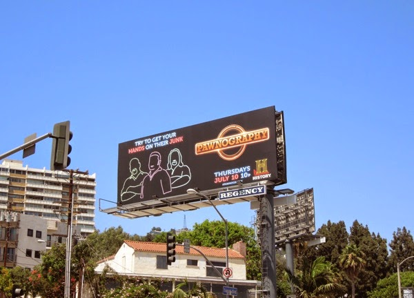 Pawnography series premiere billboard