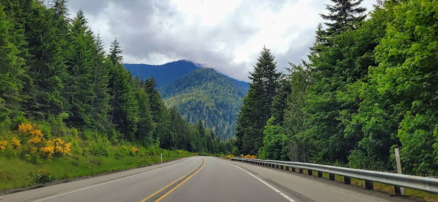 Highway 101- US to Lake crescent
