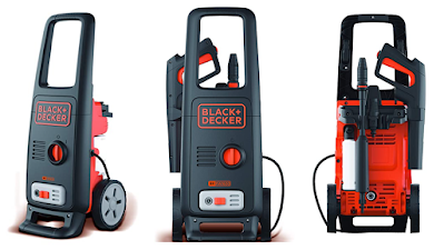 BLACK+DECKER BW16 Pressure Washer for Car wash and Home use with 125 Bar Pressure and 420 L/hr Flow Rate