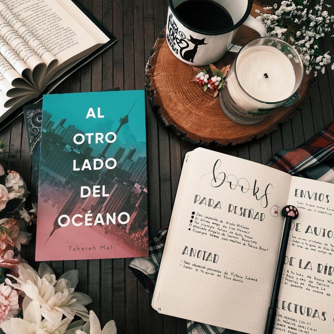 Foto del libro Al otro lado del oceano de la autora Tahereh Mafi