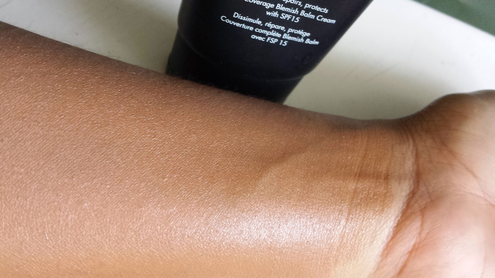 Sleek BB Cream swatch - www.modenmakeup.com