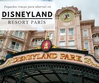 ahorrar dinero viaje con niños disneyland resort paris