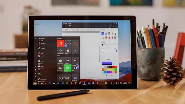 5. Microsoft Surface Pro 7+