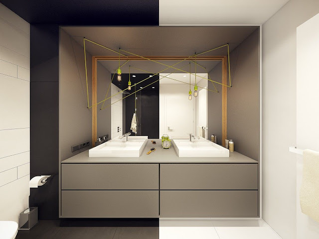 Contemporary Interior Design Bathroom