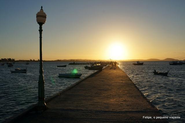 por do sol em Buzios porto da barra