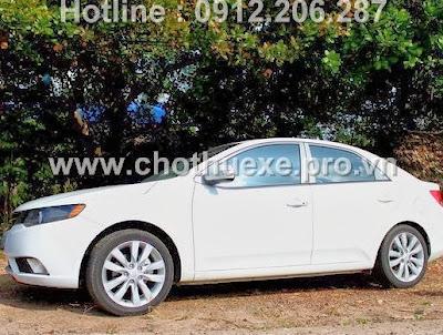 Cho thuê xe 04 chỗ KiA Forte giá rẻ tại Hà Nội