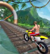 سباق الدراجة البهلوانية للاندرويد - دراجات حركات خطيرة هوئية العاب ماهر