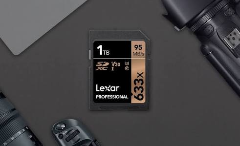 1TB SD Card Entered the Market