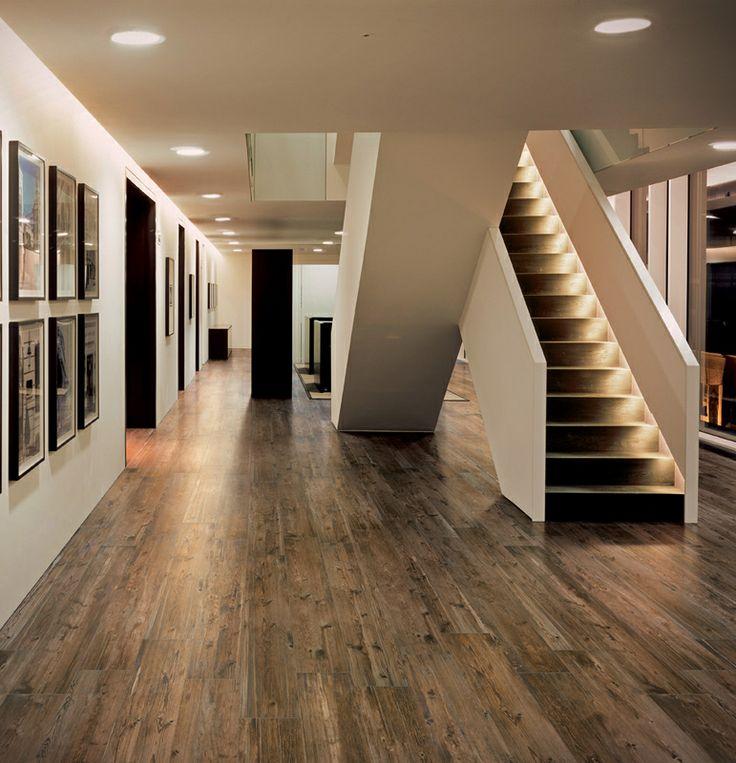 Tile - Porcelain and Ceramic & Row House Refuge: Basement Flooring Ideas