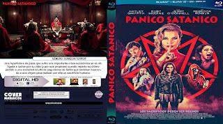 CARATULA PANICO SATANICO - SATNIC PANIC 2019[COVER BLU-RAY]