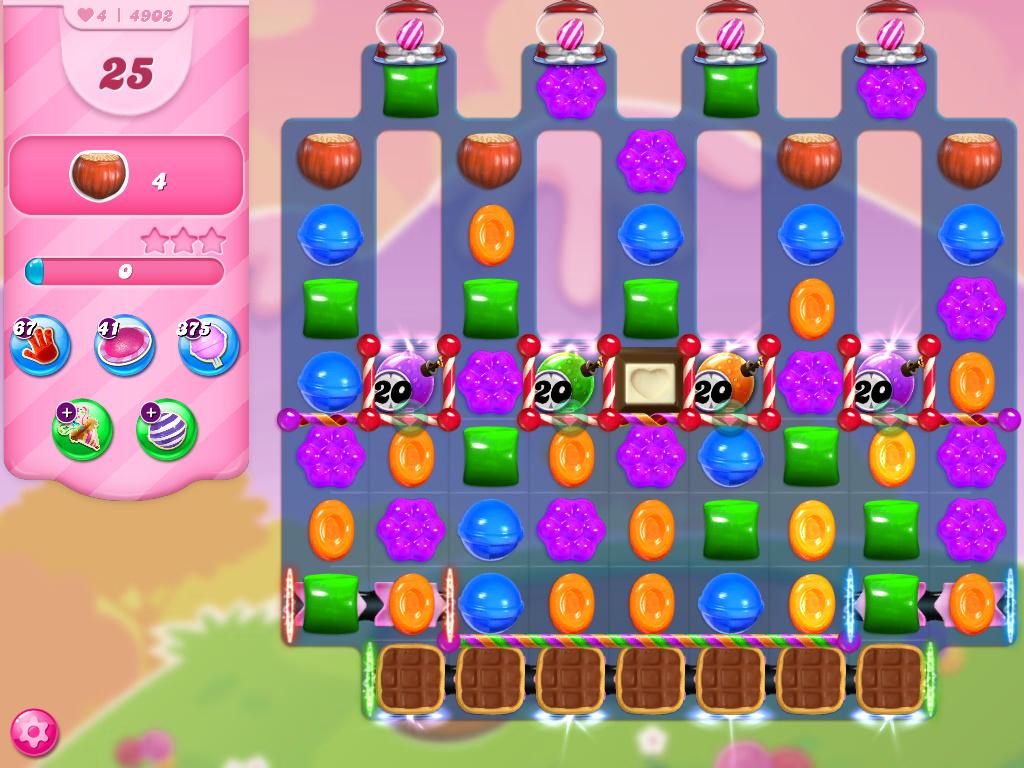 Candy Crush Saga level 4902