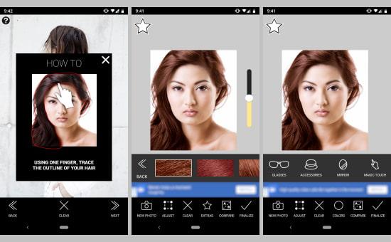5 Aplikasi Pengubah Warna Rambut Gratis Di Android Semutsujud