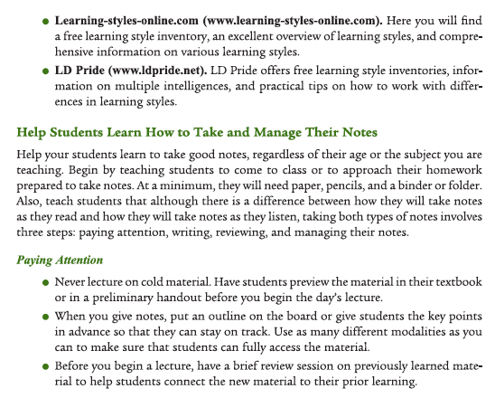 overview of learning styles essay Academic resources learning styles how do you learn best have you ever thought that you might be more effective in your classes if you fully understood the methods.