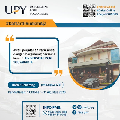 Penerimaan Mahasiswa Baru UPY Yogyakarta